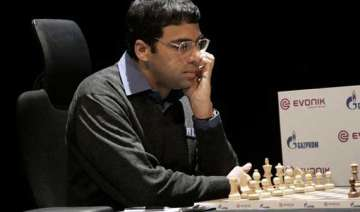 anand in command and a likely contender for...