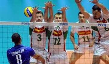 bulgaria qualifies for men s volleyball at games...