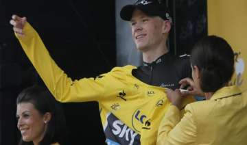chris froome s team releases private data - India...