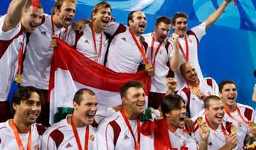 hungary aiming for 4th straight water polo gold -...