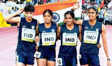 indian athletics team leaves for asian youth...