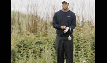 tiger woods gets ready to play in us open - India...