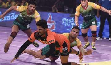 pro kabaddi u mumba hold edge over bengaluru...