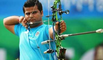 world archery india s rajat chauhan settles for...