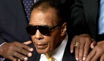 muhammad ali back in hospital for follow up care...