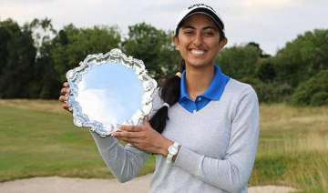 aditi ashok becomes first indian to win ladies...