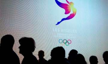 los angeles unveils 2024 olympic games logo -...
