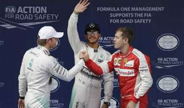 mercedes hamilton holds off rosberg for 5th...