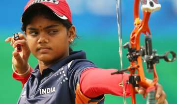 indian women archers win compound gold at sag...
