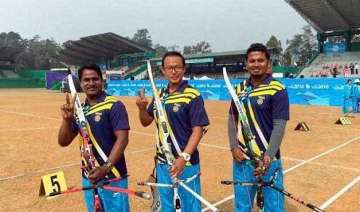 more golds for india in sag archery - India TV