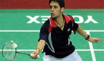 parupalli kashyap reaches 2nd round of asia...