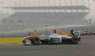 indian grand prix force india record first double...