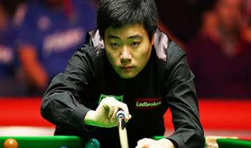 indian open rampaging ding pots snooker title -...