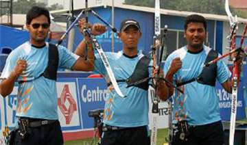 indian men s archery team secure olympic berth -...