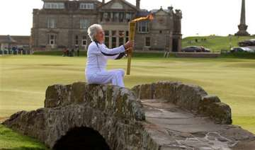 olympic torch relay to stop by buckingham palace...