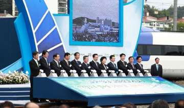 skorea building high speed railway to pyeongchang...