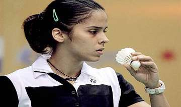 saina goes down to xerui in indonesian open...