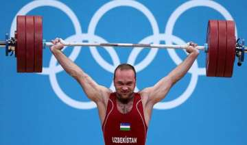 uzbek lifter wins gold at men s world...