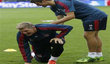 ankle injury rules schweinsteiger out for germany...
