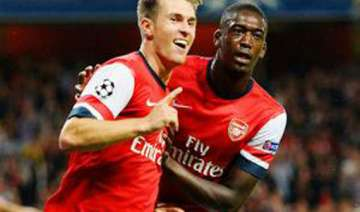 arsenal in champions league for 16th straight...