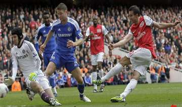 arsenal draws 0 0 with chelsea in premier league...