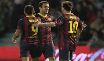 barcelona wins 3 0 at celta extends lead - India...