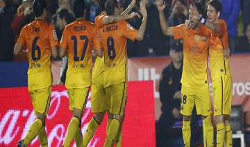 barcelona beats levante in spanish league - India...
