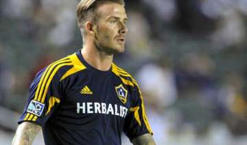 beckham says mls cup is his last game with galaxy...