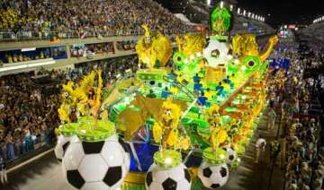 brazil celebrates 100 day mark to world cup -...
