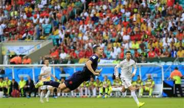 check out the latest van persie images that gone...