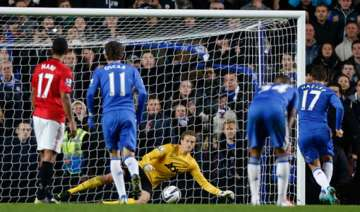 chelsea ousts united from league cup with 5 4 win...