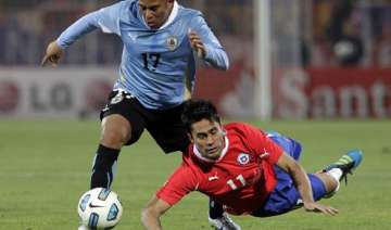 chile draws 1 1 with uruguay - India TV