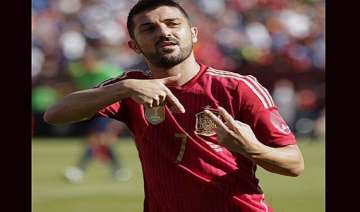david villa to retire from international football...