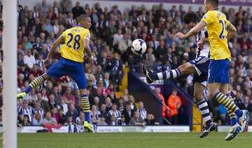 english premier league west brom holds arsenal to...