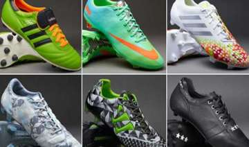 fifa world cup a look at the boots on the ground...