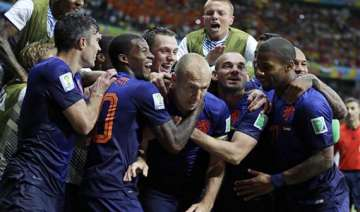 fifa world cup rampant netherlands outclass...