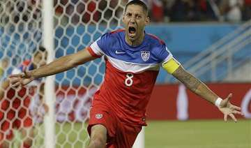 fifa world cup dempsey brooks give us 2 1 win...