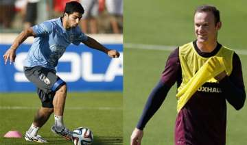 fifa world cup suarez returns from injury rooney...