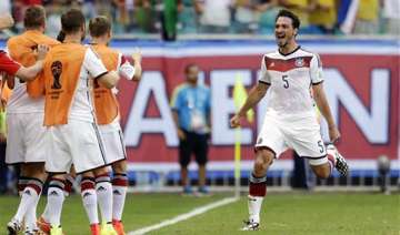 fifa world cup germany defender hummels in doubt...