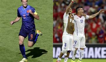 fifa world cup netherlands chile to play out...