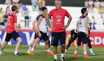 fifa world cup deschamps plays down expectations...