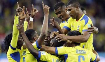 fifa world cup ecuador plays for benitez and...