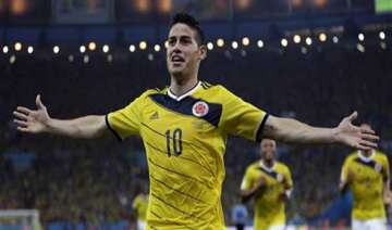 fifa world cup colombia beats uruguay 2 0 to...