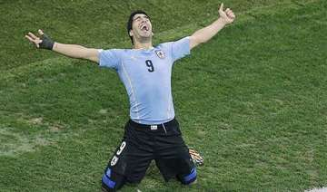 fifa world cup suarez gives uruguay 2 1 win over...
