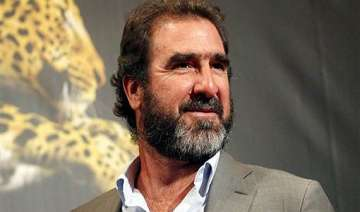 former manchester united player eric cantona...