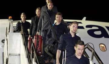 germany arrives in brazil with injury worries -...