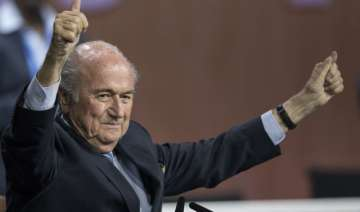 sepp blatter re elected fifa president as prince...