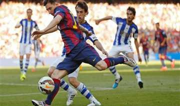 la liga title could be decided on sunday night -...