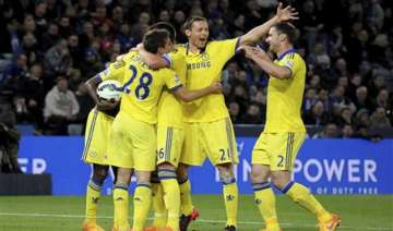 chelsea on the brink of clinching premier league...