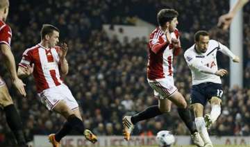 spurs beat sheff united 1 0 in 1st leg of league...